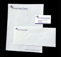 Caring Senior Choices Stationery