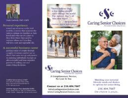Caring Senior Choices Trifold