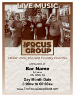 Focus Group Band Ad